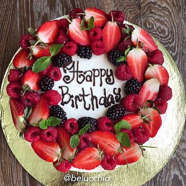 Смешные, красивые открытки с днем рождения торт
